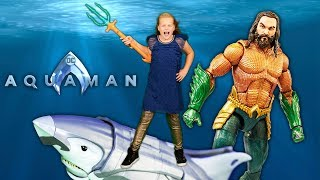 The Assistant Creates a new Aquaman Movie trailer for DC Superheroes