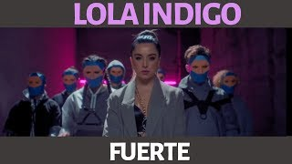 Lola Indigo - Fuerte ♫ Karaoke - Letra - Instrumental
