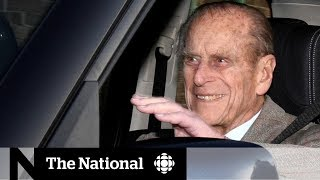 Prince Philip walks away unharmed from car crash near royal estate