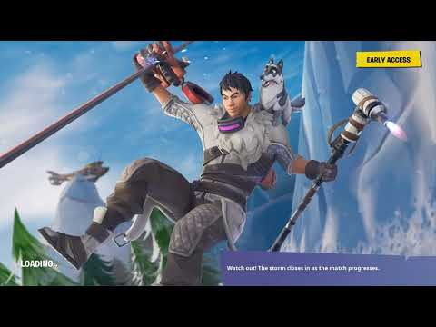 Fortnite we encountered a hacker on ps4 lobby!!!