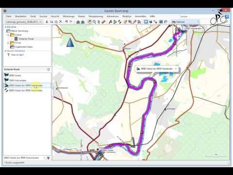 BaseCamp Aus einer Route ein Track erstellen