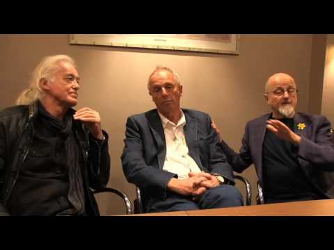 Discussion with Jimmy Page and Simon Woodroffe