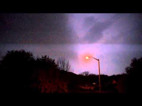 Intense Thunderstorms in Leander/Cedar Park, TX! - 3/9/2016