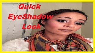Quick Eyeshadow Tutorial [VERY EASY GREAT LOOK] Thumbnail