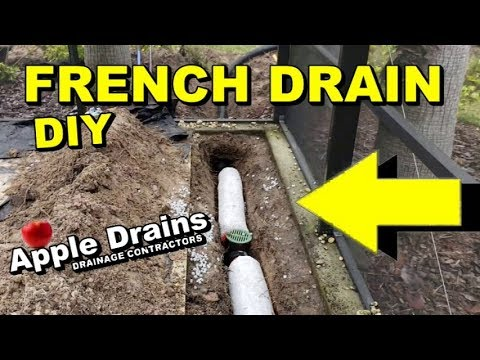French Drain Most Versatile Diy For Homeowners