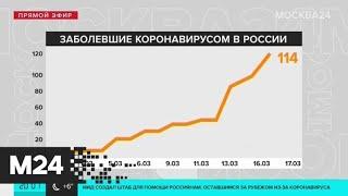 Три новых случая заражения коронавирусом зарегистрировали в Москве - Москва 24