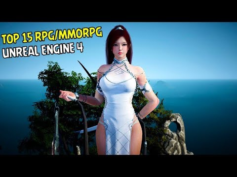 15 Games Android RPG/MMORPG Unreal Engine 4 Terbaik I Best Android Games Unreal Engine 4 2018