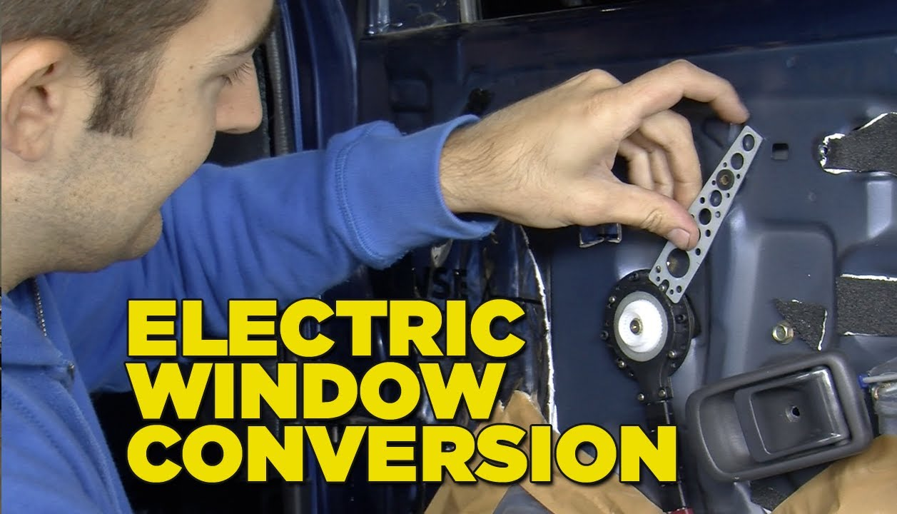 campervan wiring diagram ford model t ignition switch electric window conversion - youtube