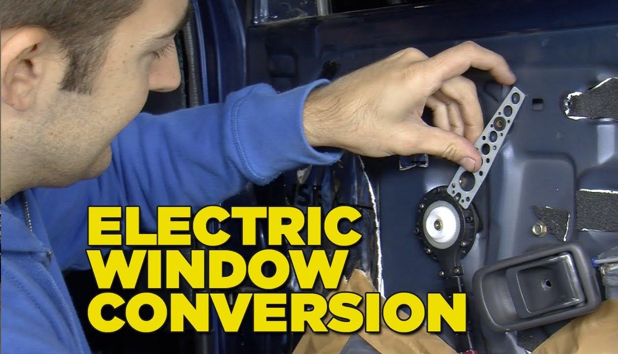 Electric Car Window Schematic
