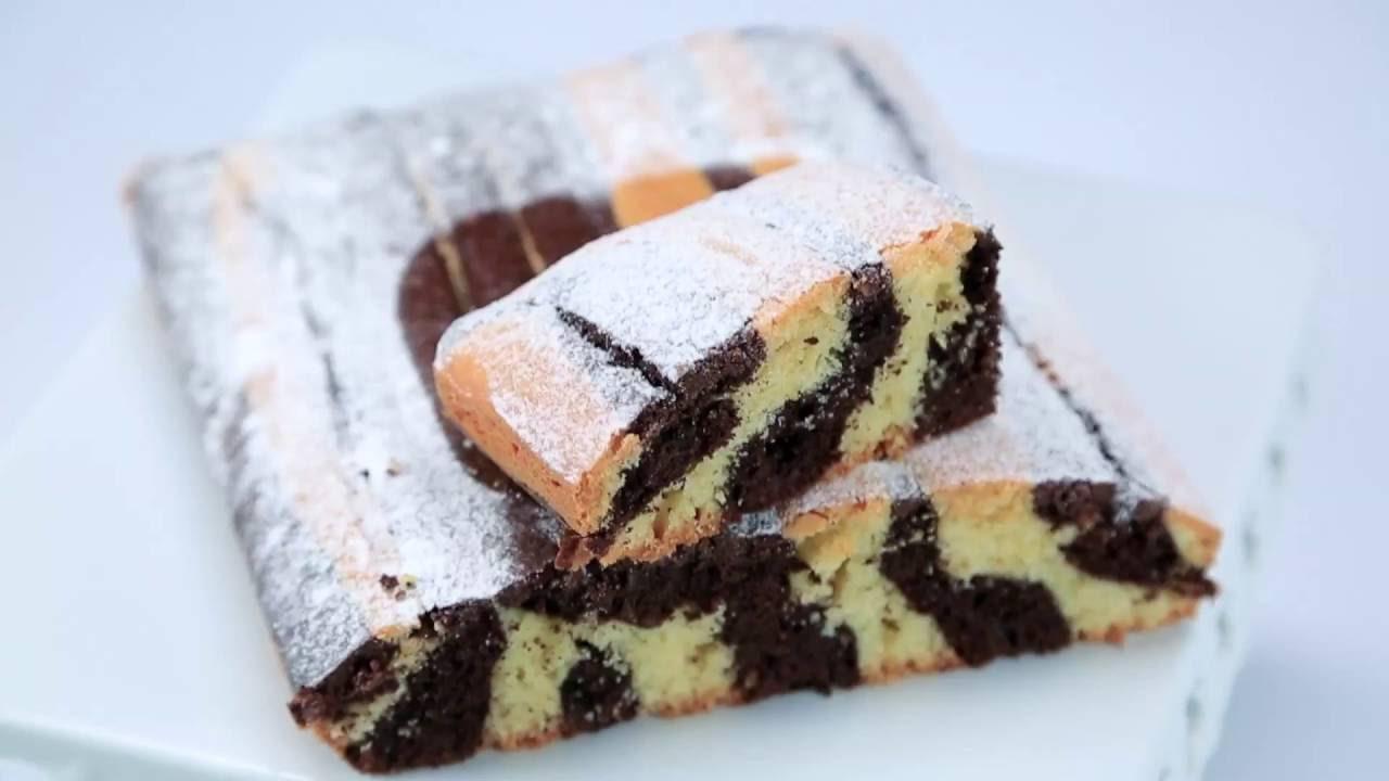 Cake Zebre Vanille Chocolat