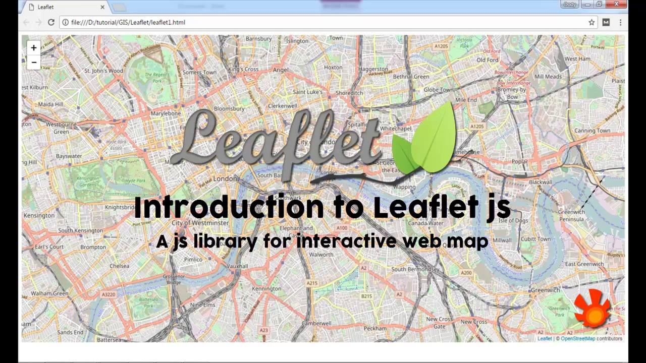 Introduction to leaflet js