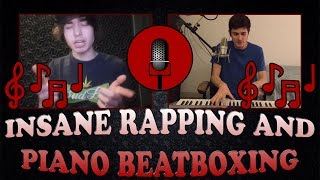 Download *INSANE* Rapping and Piano Beatboxing!! Ft. Sir Skitzo MP3 song and Music Video