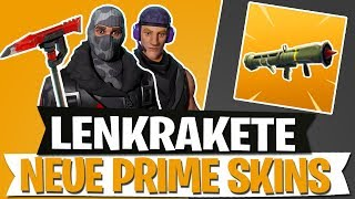 *NEW* FREE PRIME SKINS | GUIDED MISSILE UPDATE | FORTNITE BATTLE ROYALE English