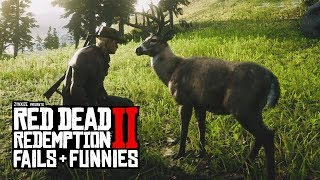 Red Dead Redemption 2 - Fails & Funnies #30