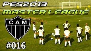 Gameplay PES 2013: Liga Master # 016 Atlético Mineiro / Fecha #5 D2