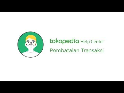Tokopedia Help Center - Pembatalan Transaksi oleh Penjual