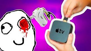 Телевизор кровь из глаз