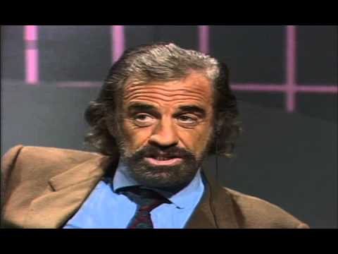 Günther Jauch - Gespräch mit Jean-Paul Belmondo 1989