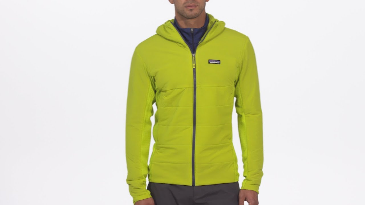 Patagonia Men s Nano-Air® Light Hybrid Hoody - YouTube cacb3be25d86