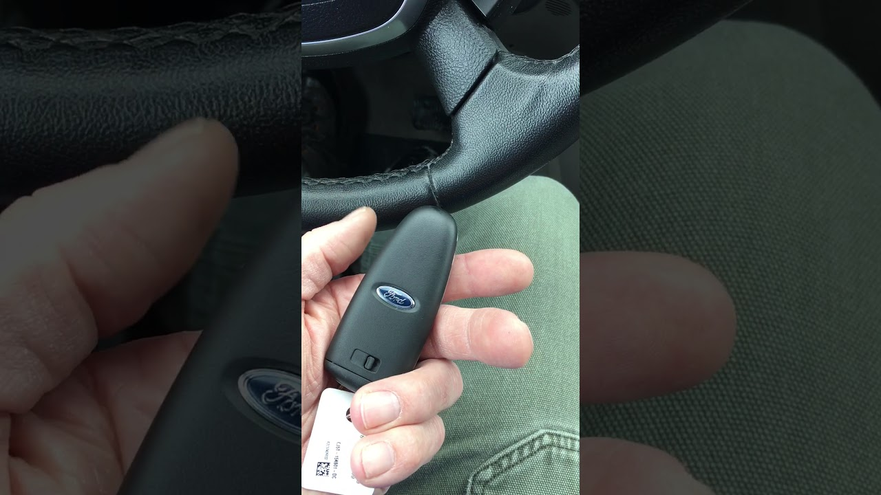 Ford Fob Not Starting Car Youtube