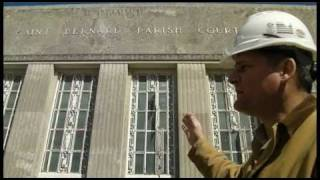 Historic Masonry Training - Lime Putty Mortar - 34th District Courthouse, Chalmette, LA