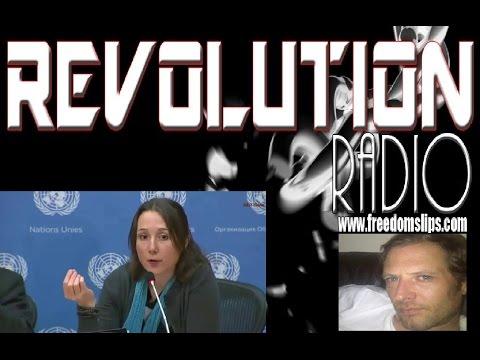 EVA BARTLETT exposes Propganda in Syria and Gaza. (Talks to Paul Stevenson on Revolution Radio)