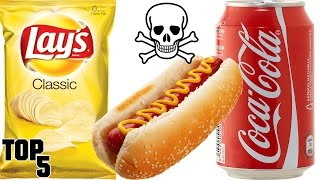 Top 5 DEADLIEST Foods You Eat Everyday