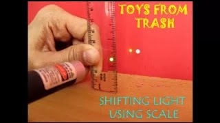Baixar SHIFTING LIGHT USING SCALE - ENGLISH - A plastic scale as a prism!