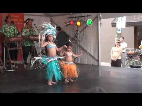 Cook Islands Dance 03 ( Children Dancers )