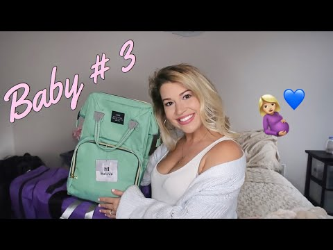 WHAT'S IN MY HOSPITAL BAG FOR LABOR AND DELIVERY | ROUND 3