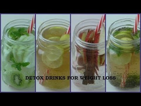Detox Drinks for Weight loss | Body Cleansing Drinks | Fitness Food Connect