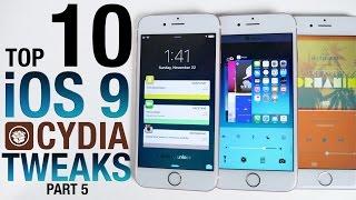 Top 10 iOS 9 Cydia Tweaks Part 5! 9.0.2 Pangu Jailbreak Compatible