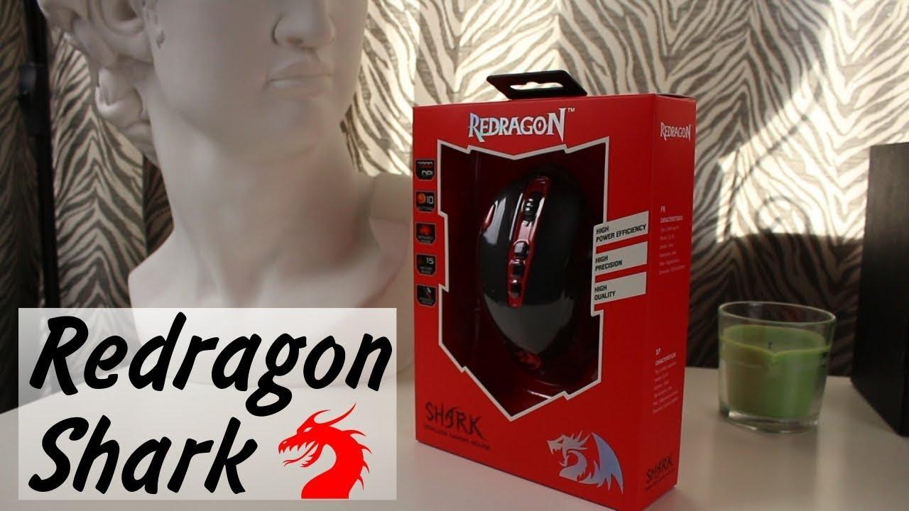 Обзор игровой мышки Redragon Shark / Беспроводная и Геймерская? Это как?