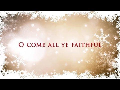 Tasha Cobbs - O Come All Ye Faithful (Lyric Video)