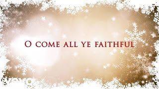 Tasha Cobbs - O Come All Ye Faithful (Lyric Video)