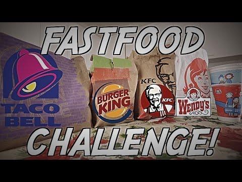 FAST FOOD VALUE MENU CHALLENGE