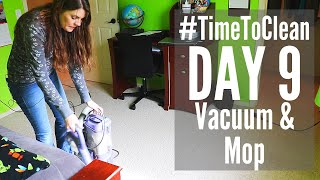 DAY 9 CLEANING SCHEDULE // #TIMETOCLEAN CHALLENGE // SPEED CLEANING ROUTINE