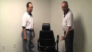 Merits Health Products - P310 Regal Powerchair Product Demo
