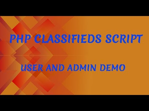 PHP Classifieds Script | Classifieds Listing Software