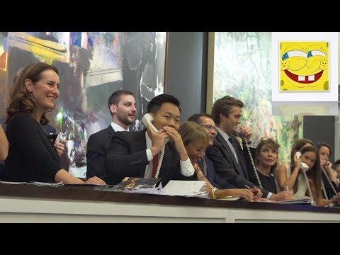 "Bidding Battle for KAWS' ""SpongeBob"" Breaks Record"