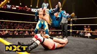 The Lucha Dragons vs. Jason Jordan & Tye Dillinger: WWE NXT, February 25, 2015