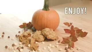 Pumpkin-oat Chocolate Chips Cookies