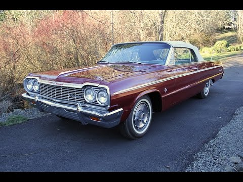 1964 Chevrolet Impala Ss Convertible 409 Charvet Classic Cars