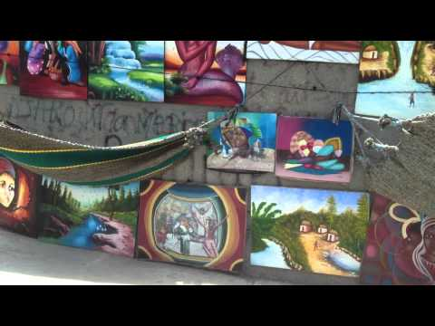 Street art in Haiti 1
