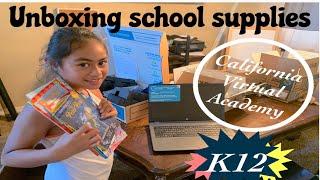 K12 Homeschool Unboxing | 2nd Grade | California Virtual Academies | 2019