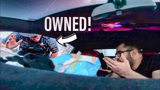 COP PULLS OVER THE WRONG LAMBORGHINI OWNER!!