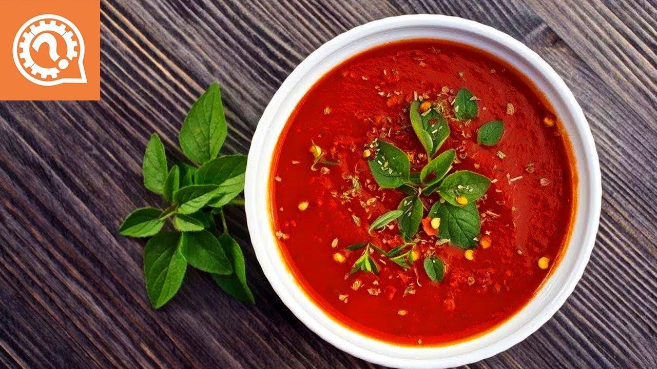 Блюдо для лентяев - томатный суп!