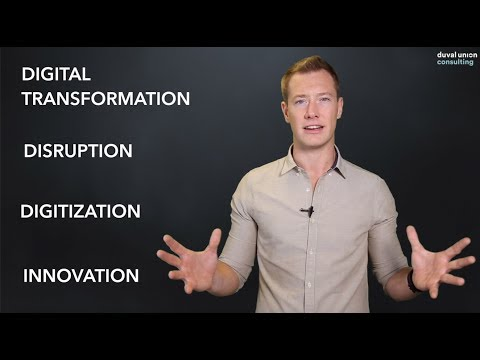Digitization, Digital Transformation and Innovation: What's the Difference?
