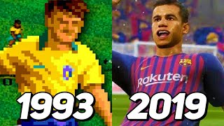 Evolution of Fifa Games 1993-2019