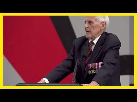 Breaking News   World War II veteran and Essendon legend Jack Jones inspires AFL players